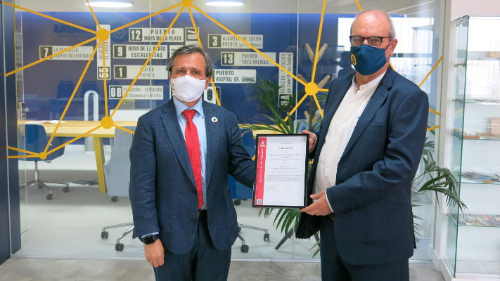 "Guaguas Municipales recibe la certificación ""Global Safe Site"""