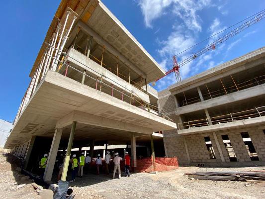 El nuevo centro sociosanitario estará concluido a finales de 2021
