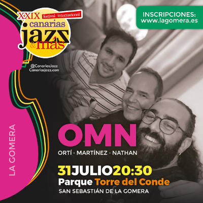 Finaliza el plazo para solicitar entradas del Festival Canarias Jazz & Más