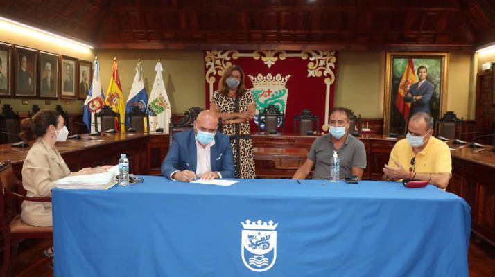 Puerto de la Cruz firma la entrega de diez viviendas