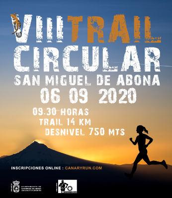 VIII Trail Circular San Miguel de Abona en diferentes categorías