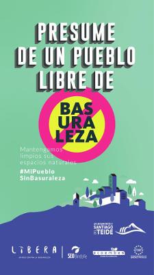 Campaña del Proyecto LIBERA #MiPuebloSinBasuraleza