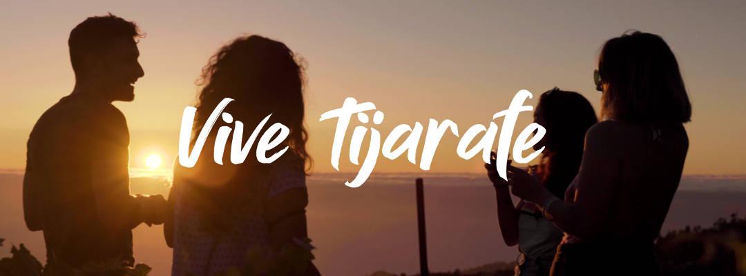 Campaña promocional turística Descubre, siente, disfruta, Vive Tijarafe