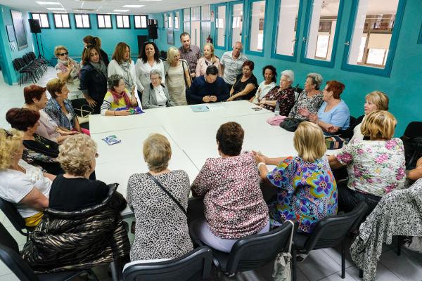 Arona impulsa el nuevo centro integral de atención a los mayores