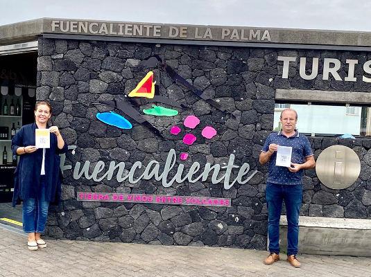 Información turística en Fuencaliente a través de códigos QR