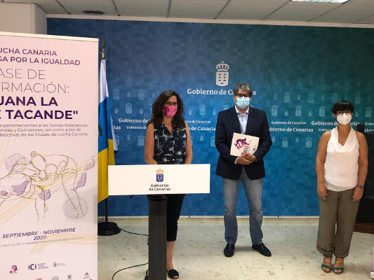 Proyecto para incorporar la perspectiva de género en la Lucha Canaria