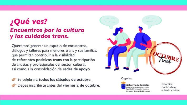 Diversidad programa talleres online de personas trans y familiares