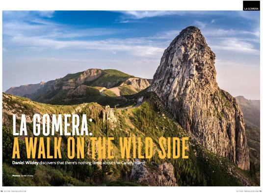 Active Traveller invita a pasar las vacaciones de invierno en La Gomera