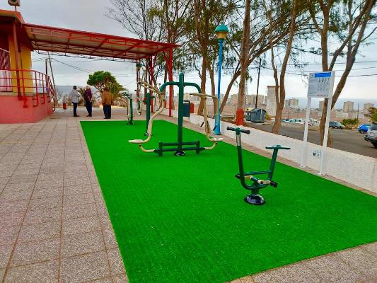 Parque biosaludable para Hoya Aguedita desde el lunes