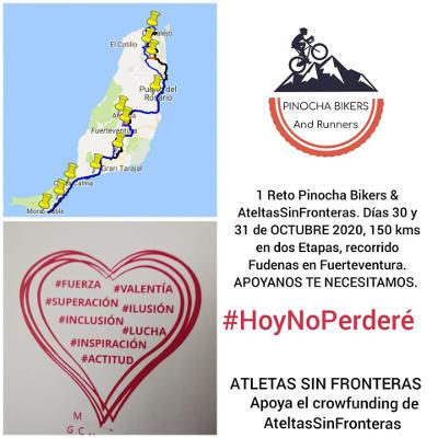 La inclusión llega a Fudenas con ASF y Pinocha Bikers