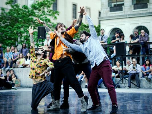Cinco espectáculos de danza al aire libre en la trasera del Auditorio