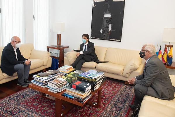 La Embajada Alemana traslada su interés por la reactivación del turismo