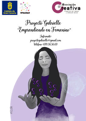 El proyecto 'Gabrielle Emprendiendo en Femenino' orienta a las mujeres, para que transformen su pasión en profesión
