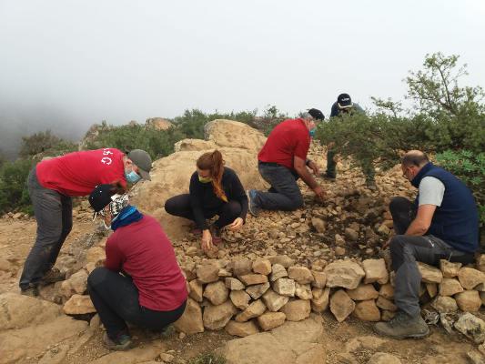 La Fortaleza patrimonio arqueológico y natural de La Gomera