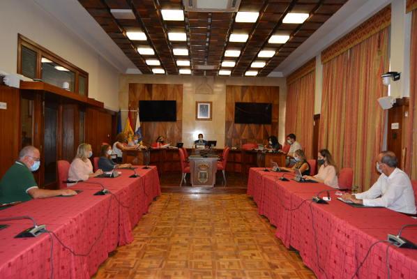 El alumnado del CEP Santa Cruz podrá realizar prácticas en el Cabildo