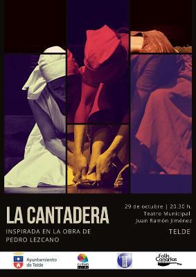 La Cantadera se interpretará en el Teatro Juan Ramón Jiménez