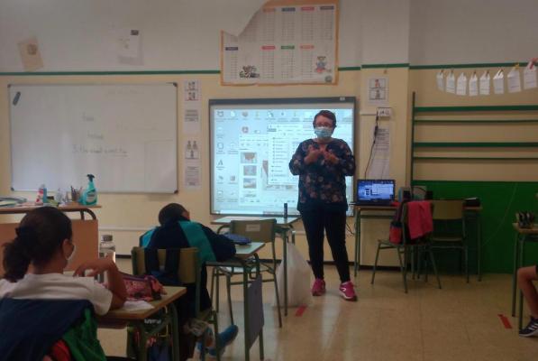 La Escuela Verde, proyecto de educación ambiental en Telde