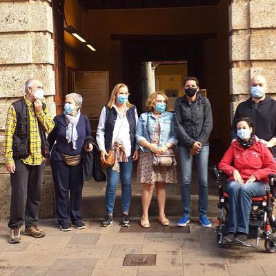 Los integrantes de Pepita Tenerife disfrutan de una visita privada al Museo