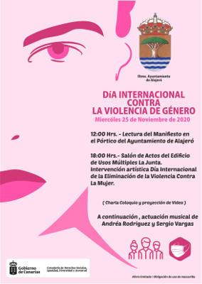 El Ayto conmemora el Día Internacional contra la Violencia de Género