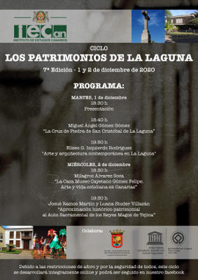 Los patrimonios de La Laguna, séptima edición ciclo de conferencias