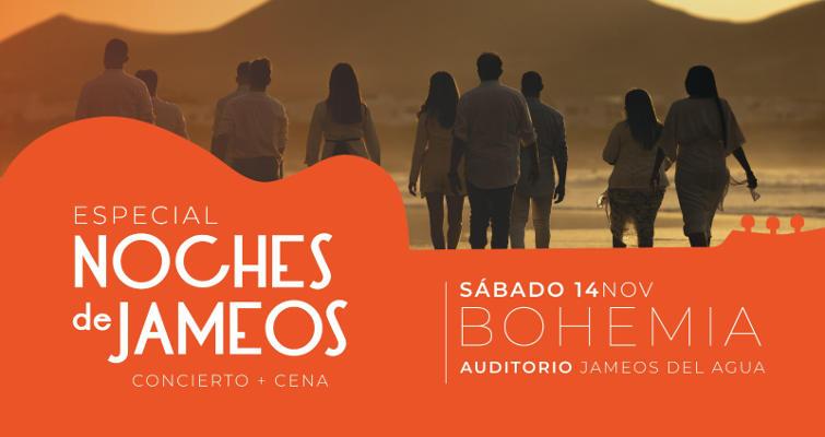 Los Centros y Bohemia Lanzarote presentan una Noche de Jameos