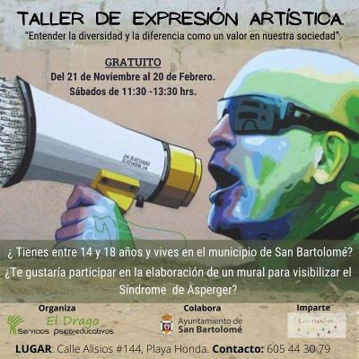 Taller de Expresión Artística para visibilizar el Síndrome de Asperger