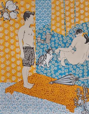 Paz Barreiro muestra 'El jardín secreto' en la sala L de La Recova