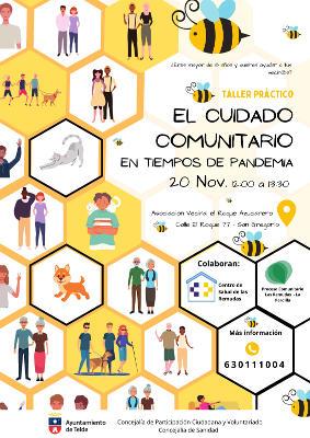 El cuidado comunitario en tiempos de pandemia, iniciativa vecinal