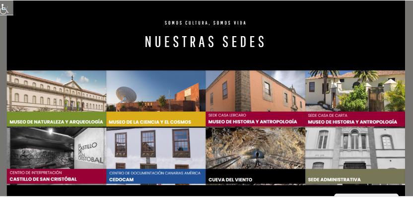 Nueva imagen web de Museos de Tenerife, más intuitiva y accesible