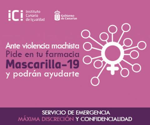 Mascarilla-19 ha permitido pedir auxilio en las farmacias a 39 mujeres