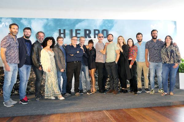 "Con motivo de la segunda temporada de la serie ""Hierro"""