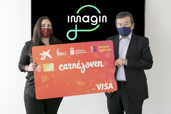 El Carné Joven Europeo podrá viajar en la nueva app Imagin