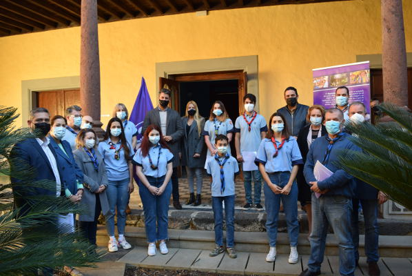 Reconocimiento de la labor de los grupos scouts del municipio