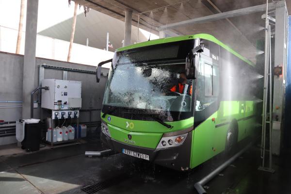 Sustituyen los trenes de lavado por máquinas más sostenibles