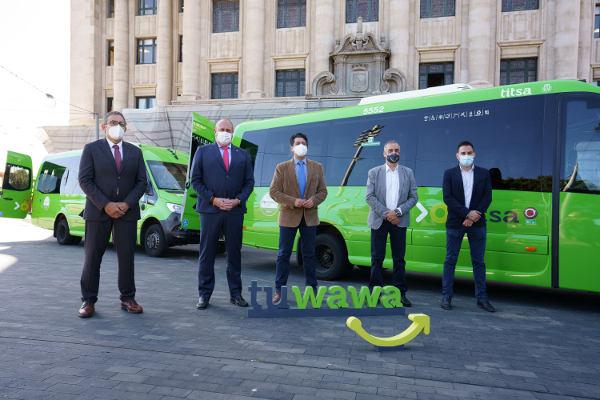Proyecto piloto de transporte público a demanda Tuwawa