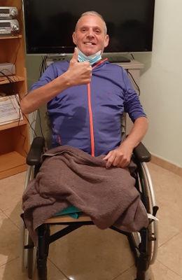 José Antonio Aráez nadador con discapacidad necesita nuestra ayuda