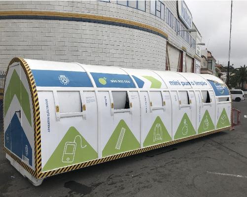 La campaña de fomento del reciclaje se cerró con 9.680 kilos de residuos