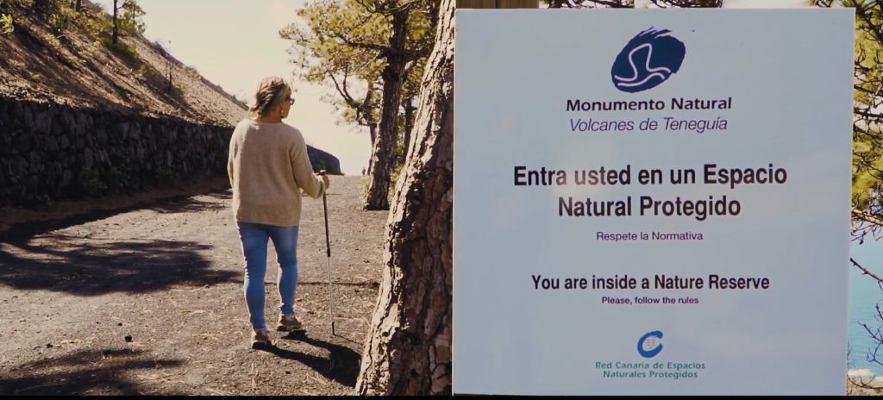 Se promueve el conocimiento de los Espacios Naturales de La Palma