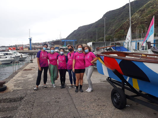 La F. C. de Barquillos de Vela Latina homenajea a la mujer regatista