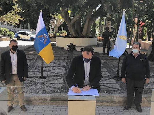 Acuerdo por la actividad económica y el empleo en Agüimes