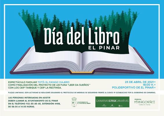 El espectáculo de Totó el payaso para celebrar el Día del Libro