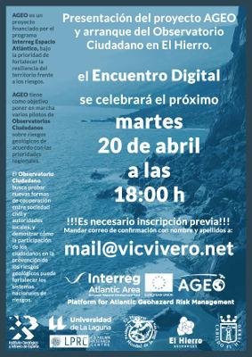 Observatorio Ciudadano del proyecto europeo AGEO