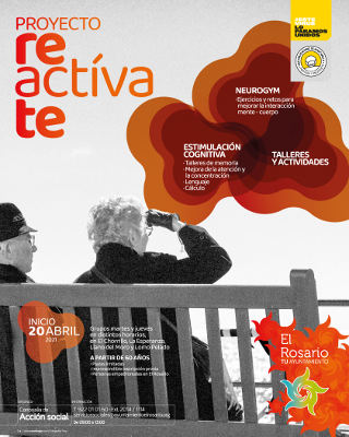 Proyecto Reactívate, gimnasia y talleres de memoria