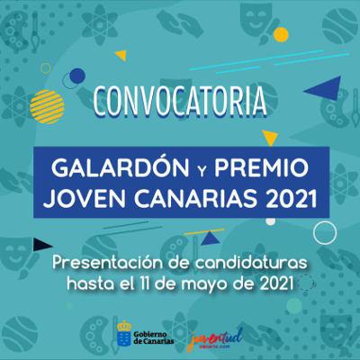 Galardón y Premios Joven Canarias 2021, se abren las candidaturas