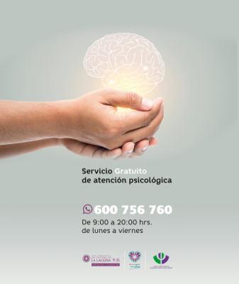 Se recupera el Servicio municipal de Atención Psicológica gratuito