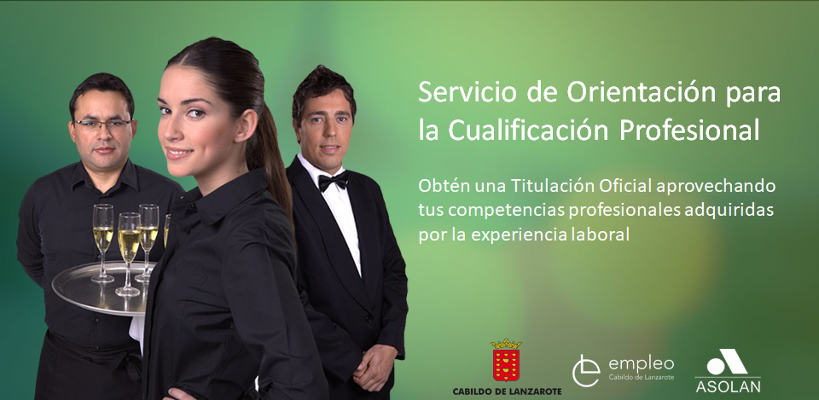 Servicio de Orientación para la Cualificación de Profesionales de la isla