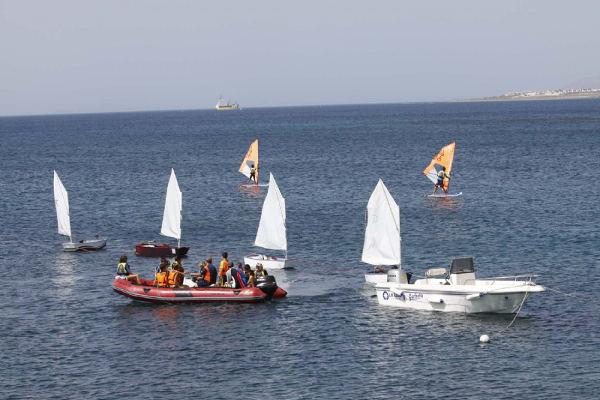 El Centro Insular de Deportes Náuticos inicia los Cursos de Vela