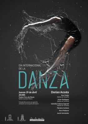 Día Internacional de La Danza con actuación del bailarín Dorian Acosta