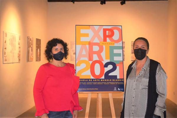 La Casa Principal de Salazar acoge Expoarte 2021