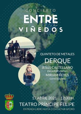 Concierto entre viñedos, nueva edición el próximo sábado